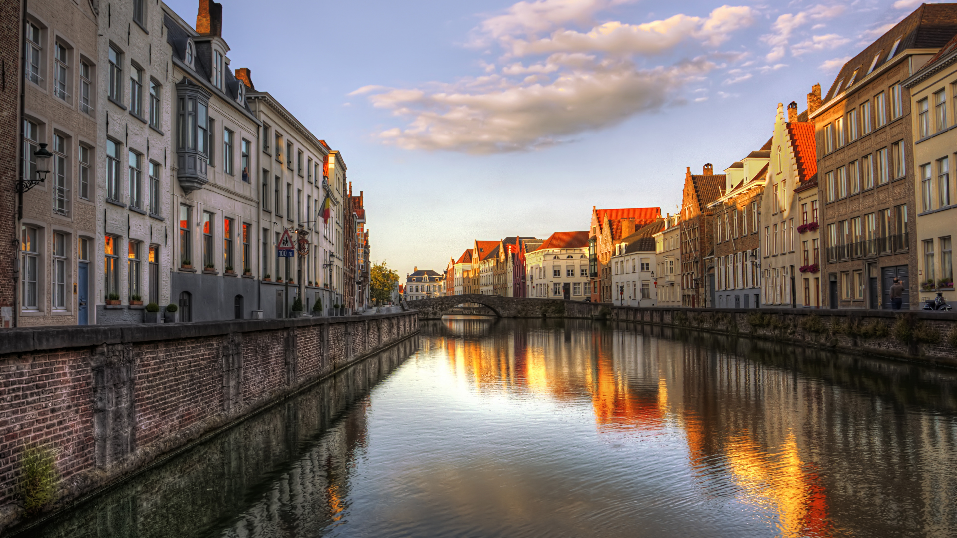 страны архитектура река Бельгия Брюгге  № 1730891 без смс