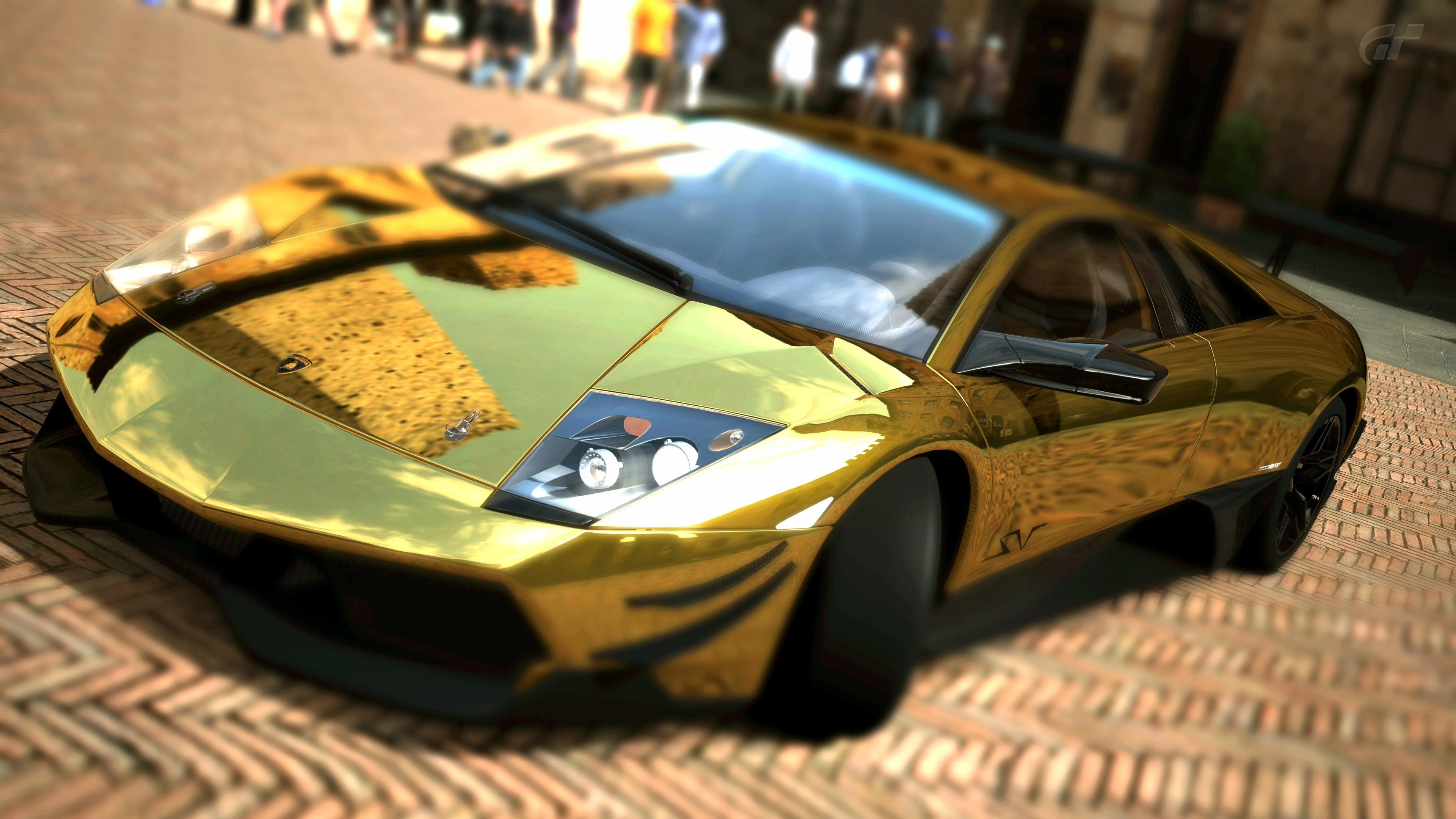 Lamborghini голубая отражение  № 2522823  скачать