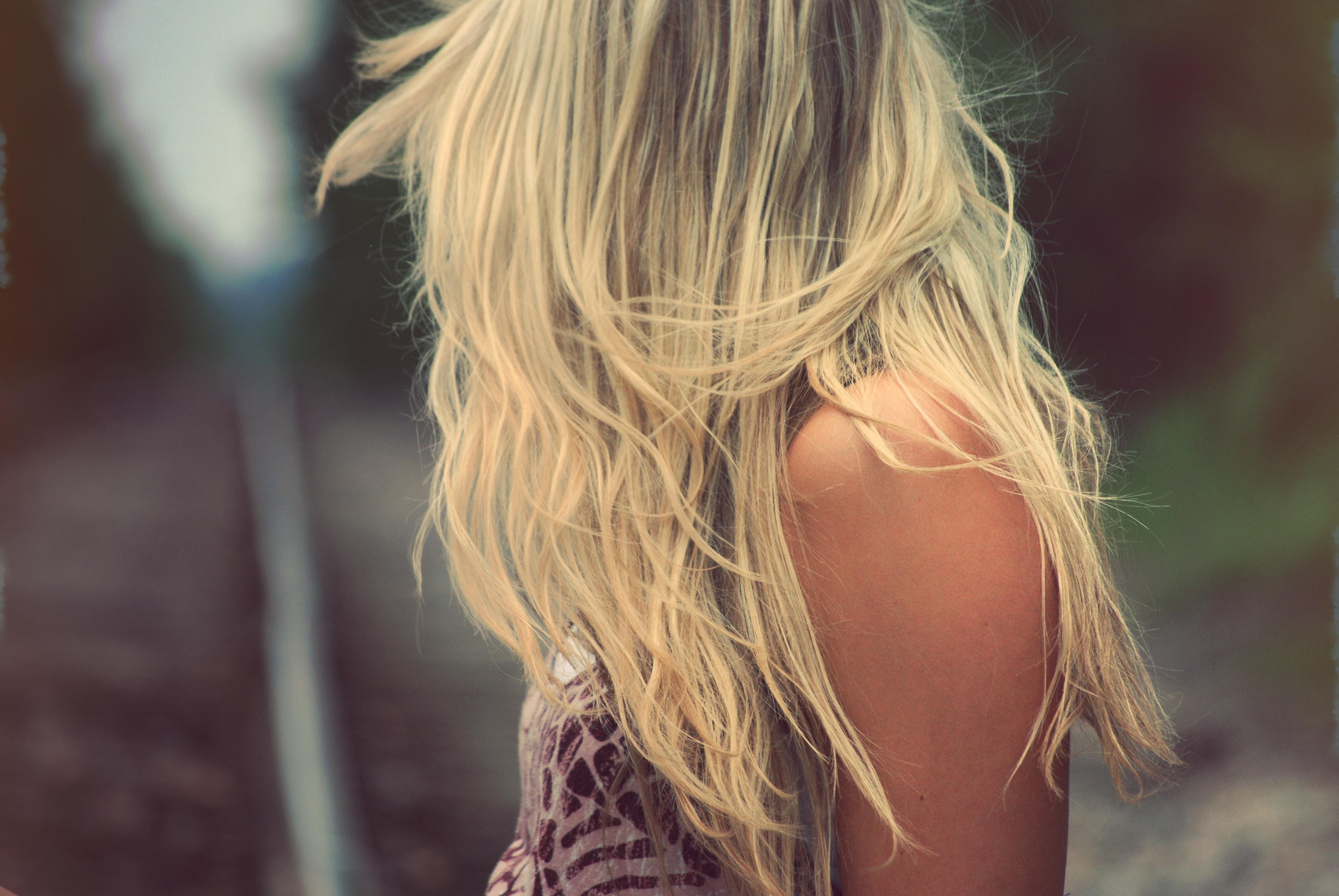 Красивые картинки блондинок сзади