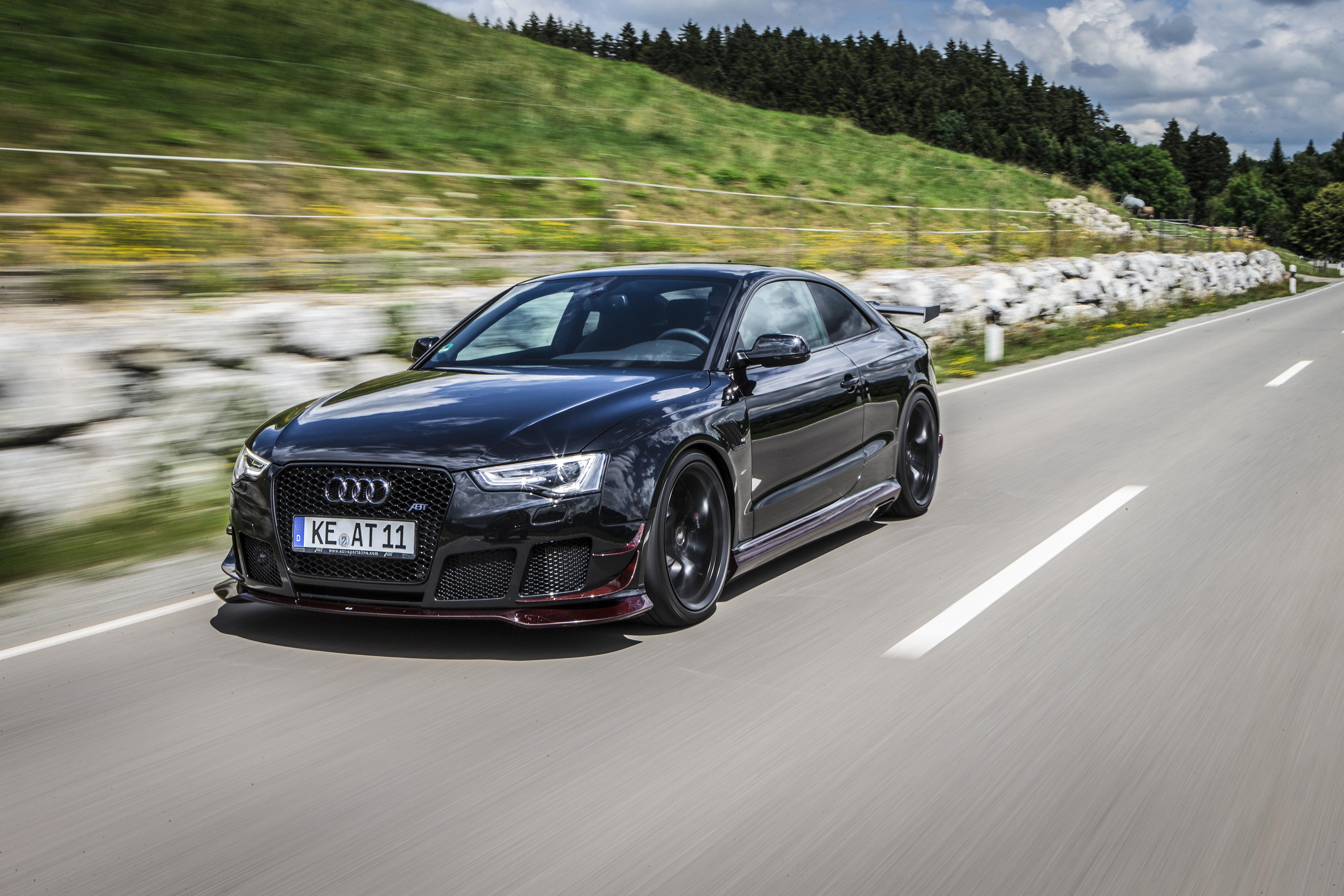 черный автомобиль Audi RS 5  № 3425087  скачать