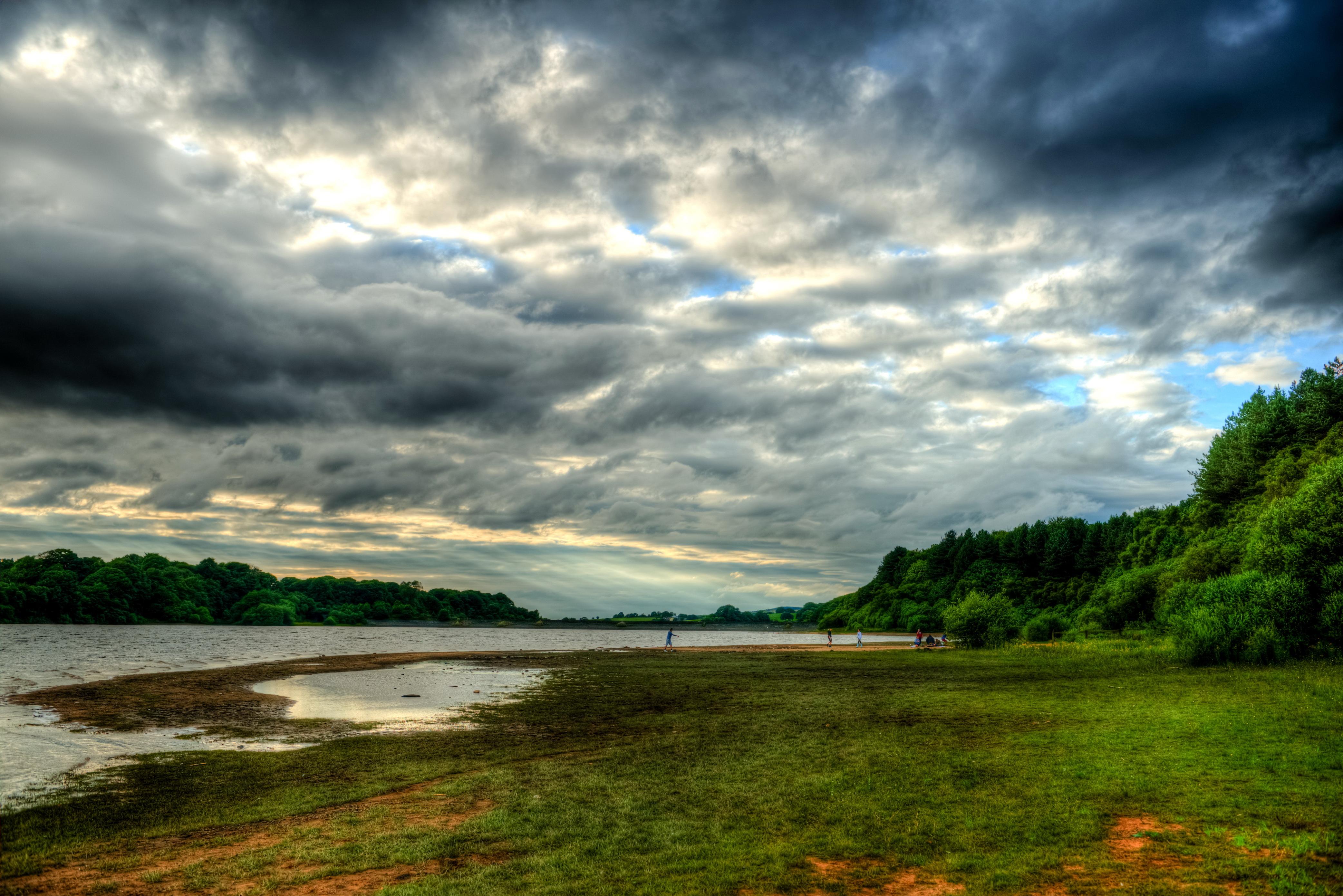 Природа облака небо река  № 2558862 бесплатно