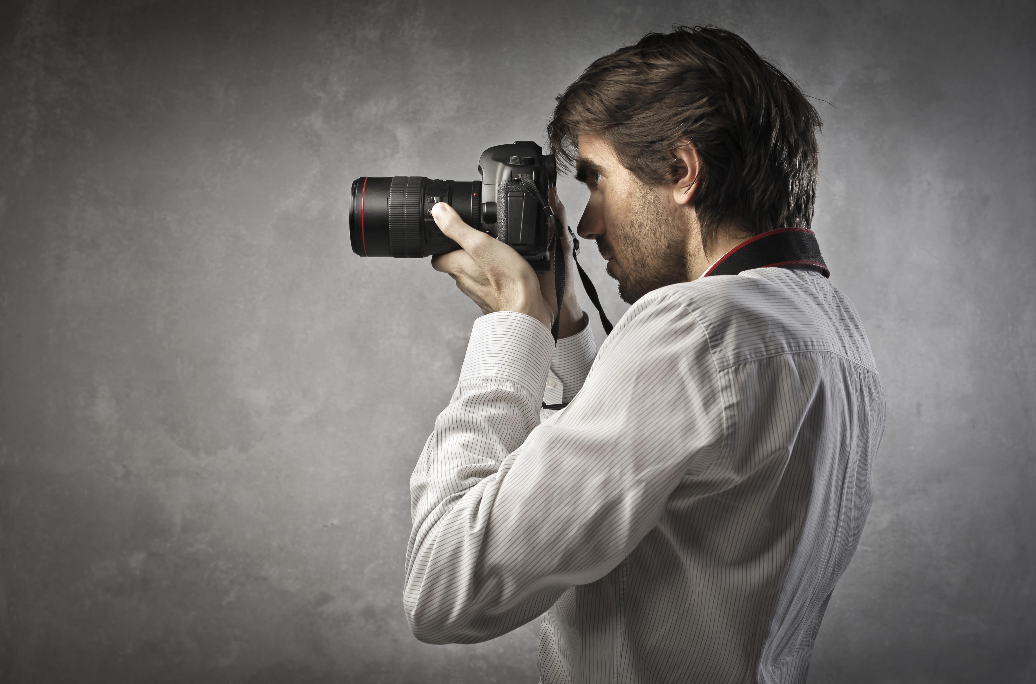 Фотограф в картинках, днем