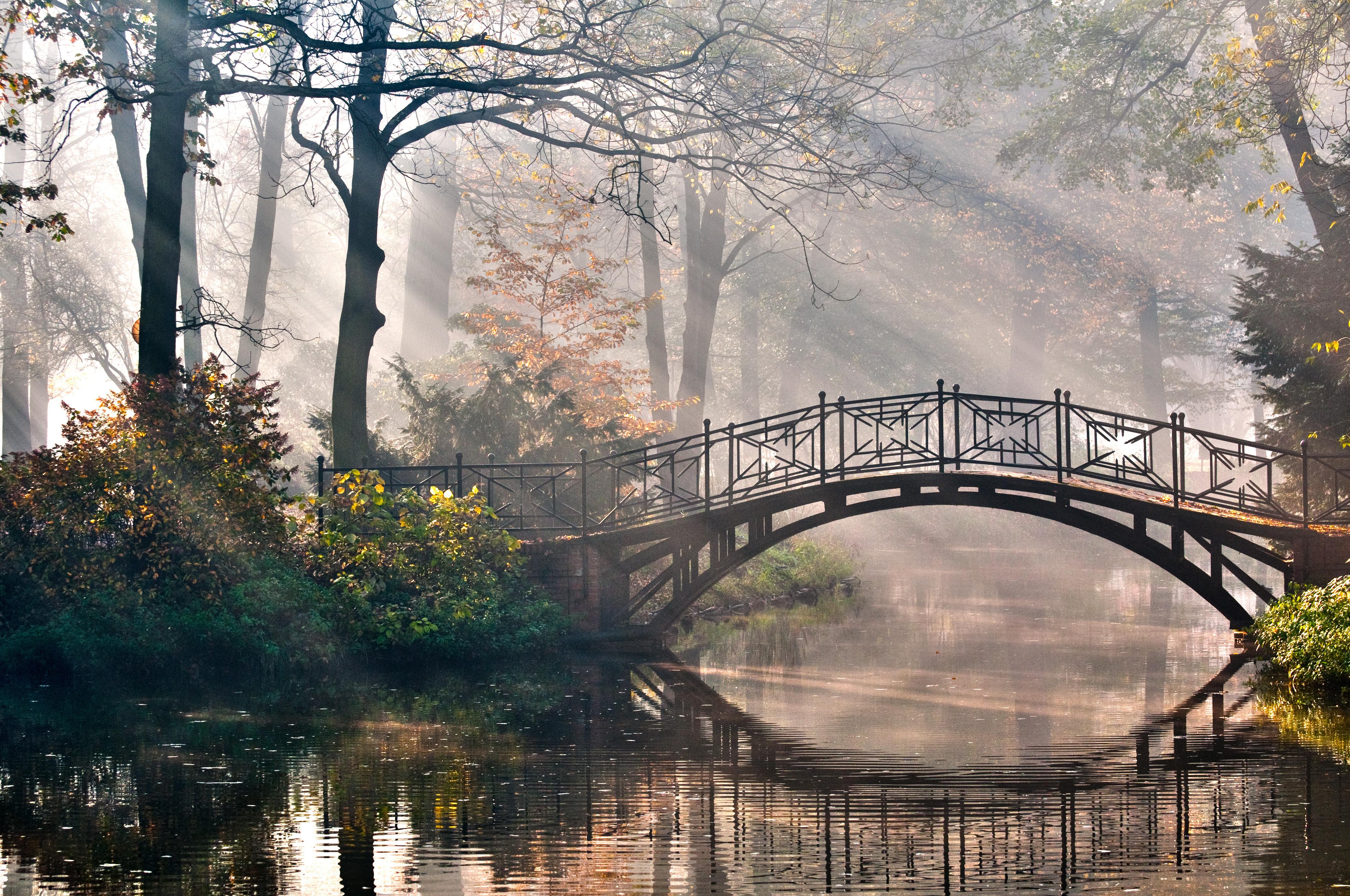 Мельница река мостик  № 2785774 без смс