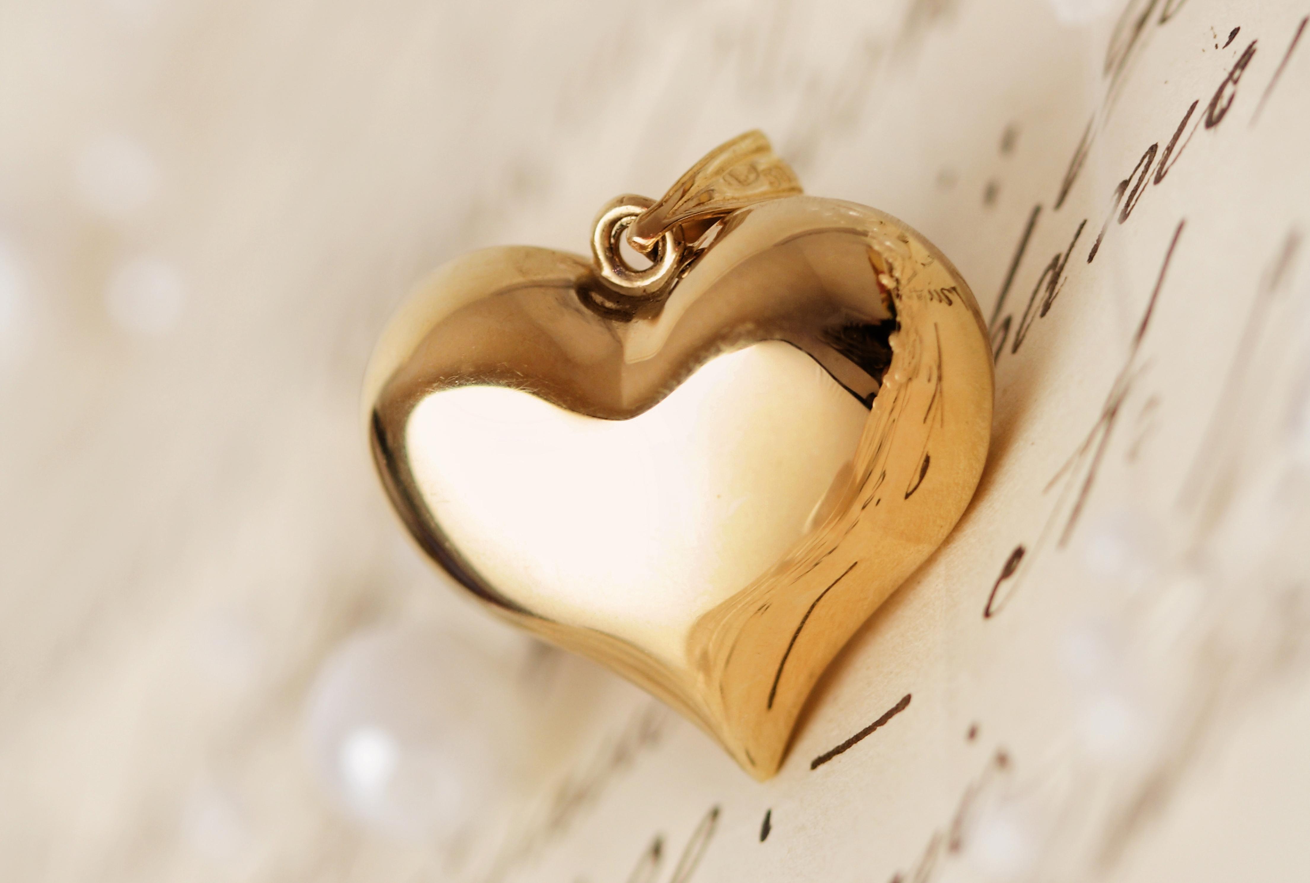Кулон цепочка сердце  № 2880074 загрузить