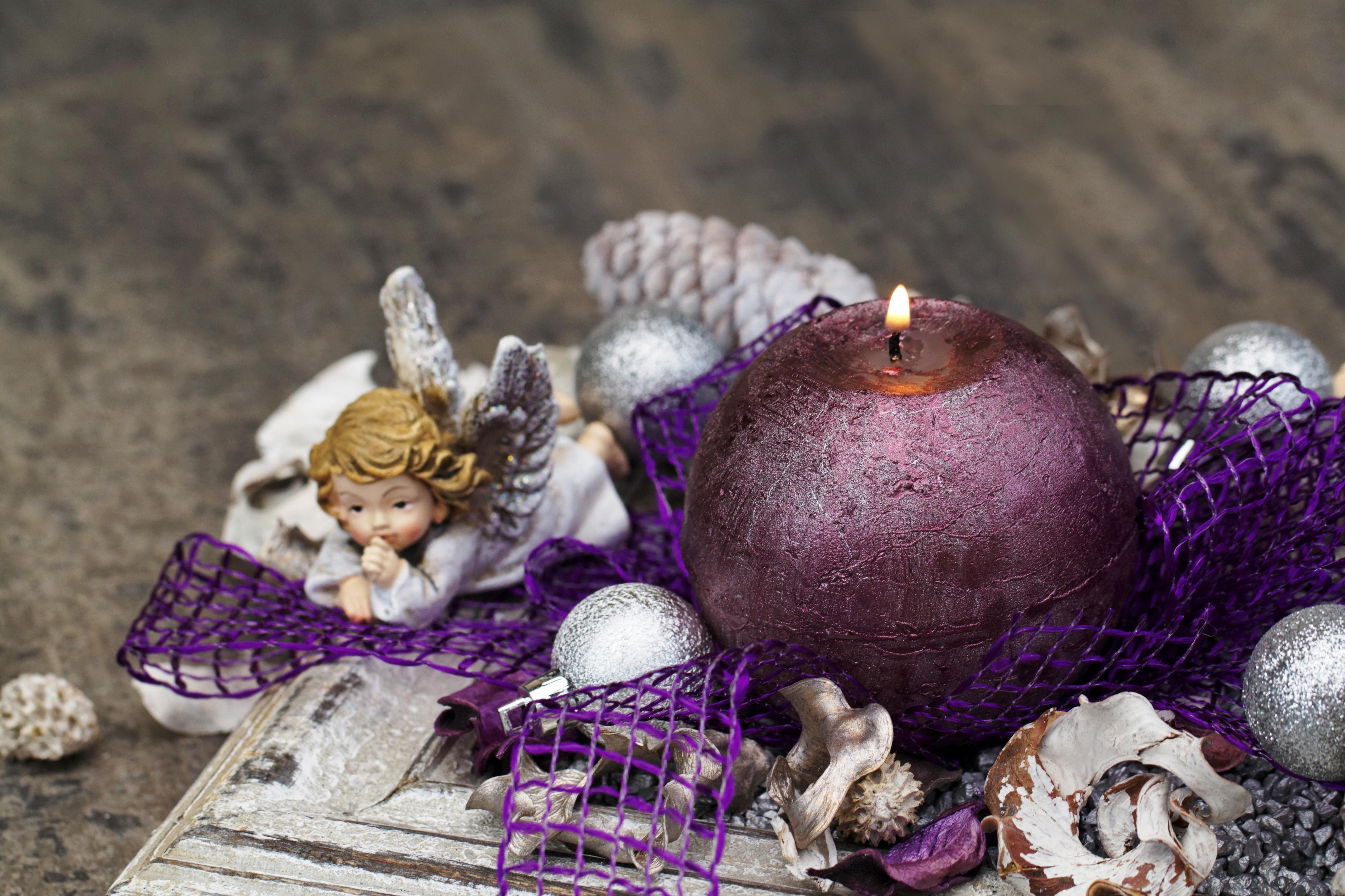 рождество новый год свечи  № 3334034 загрузить