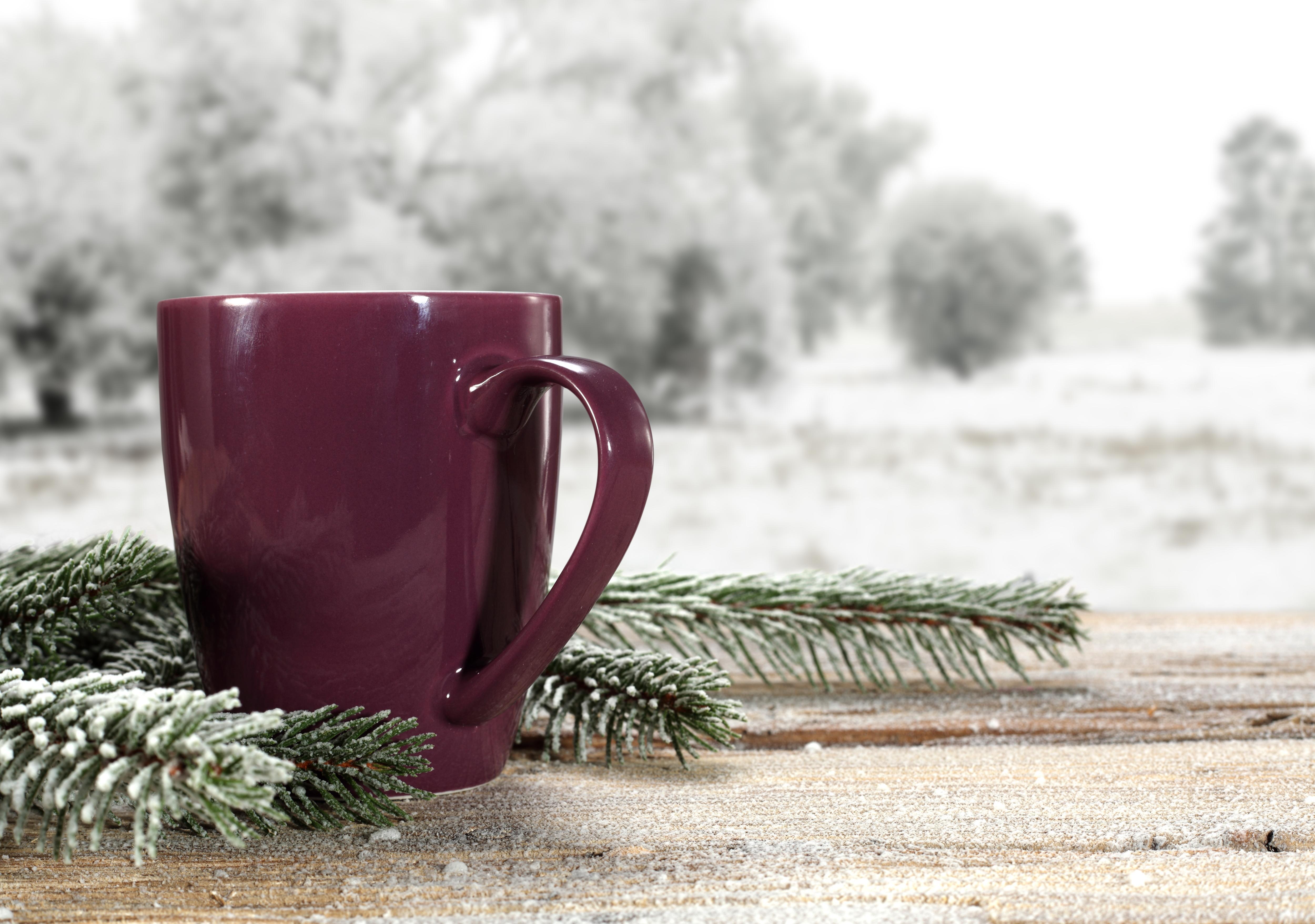доброго снежного утра картинка