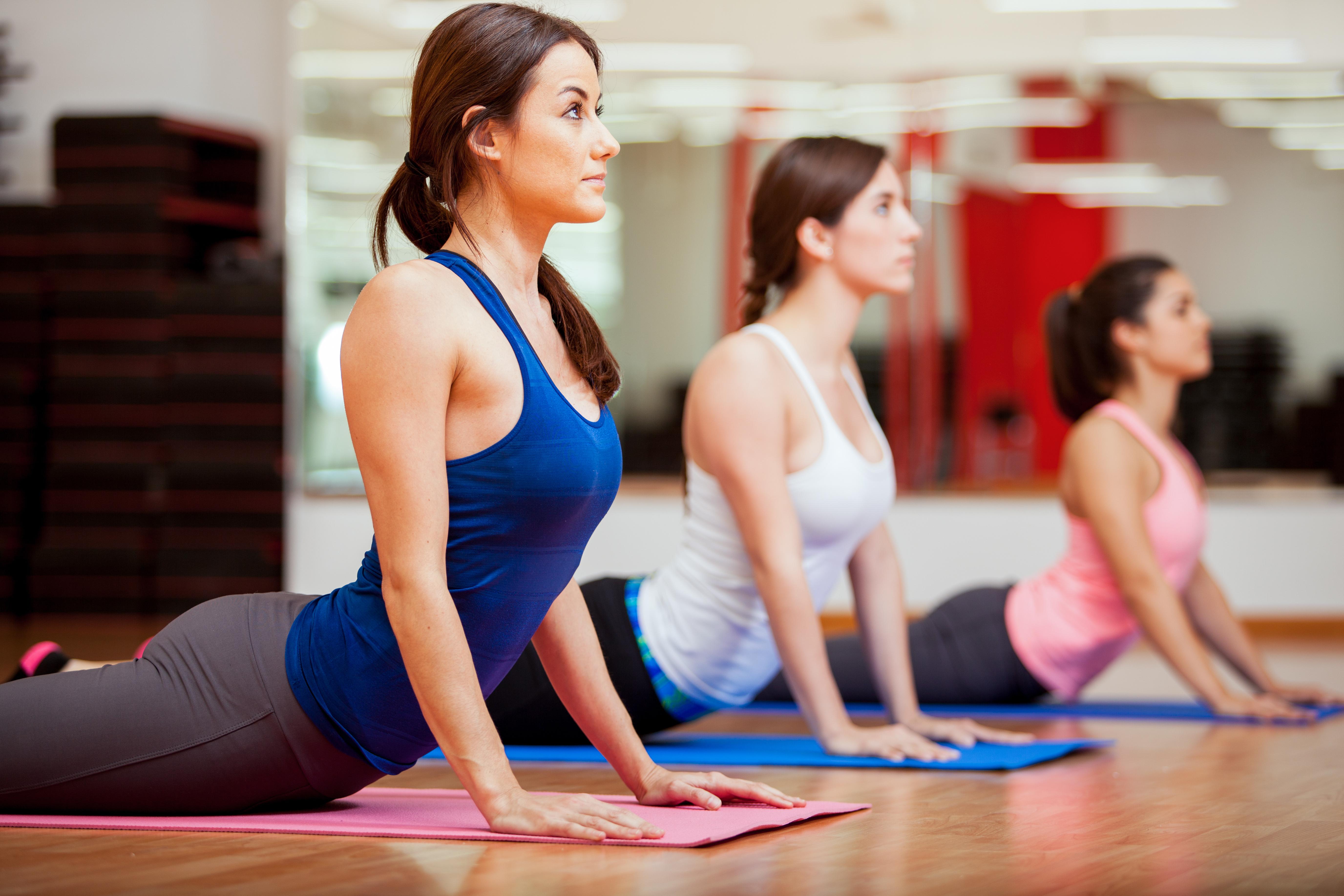 Если ходить на йогу похудеешь