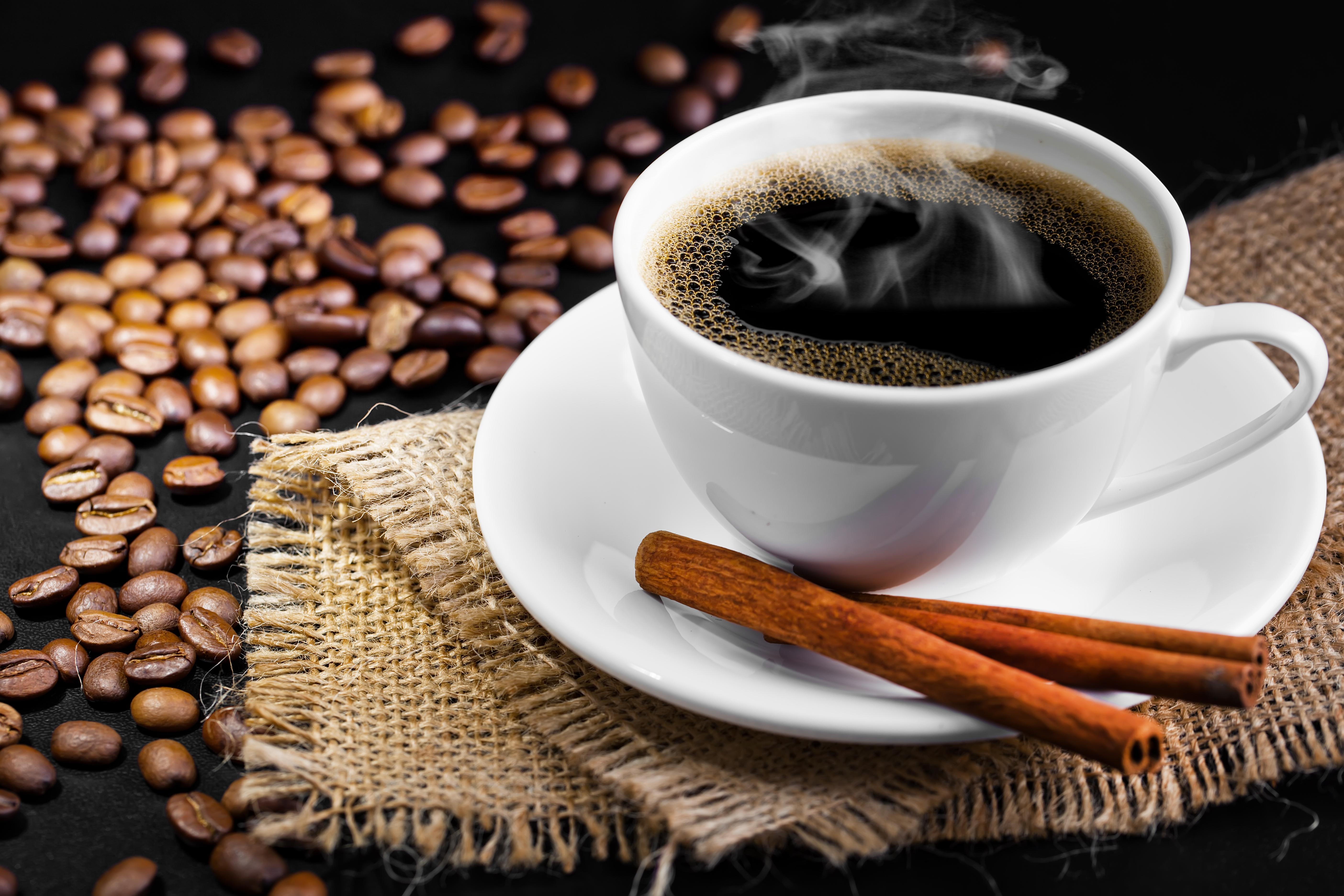 Надписью, картинка чашки кофе