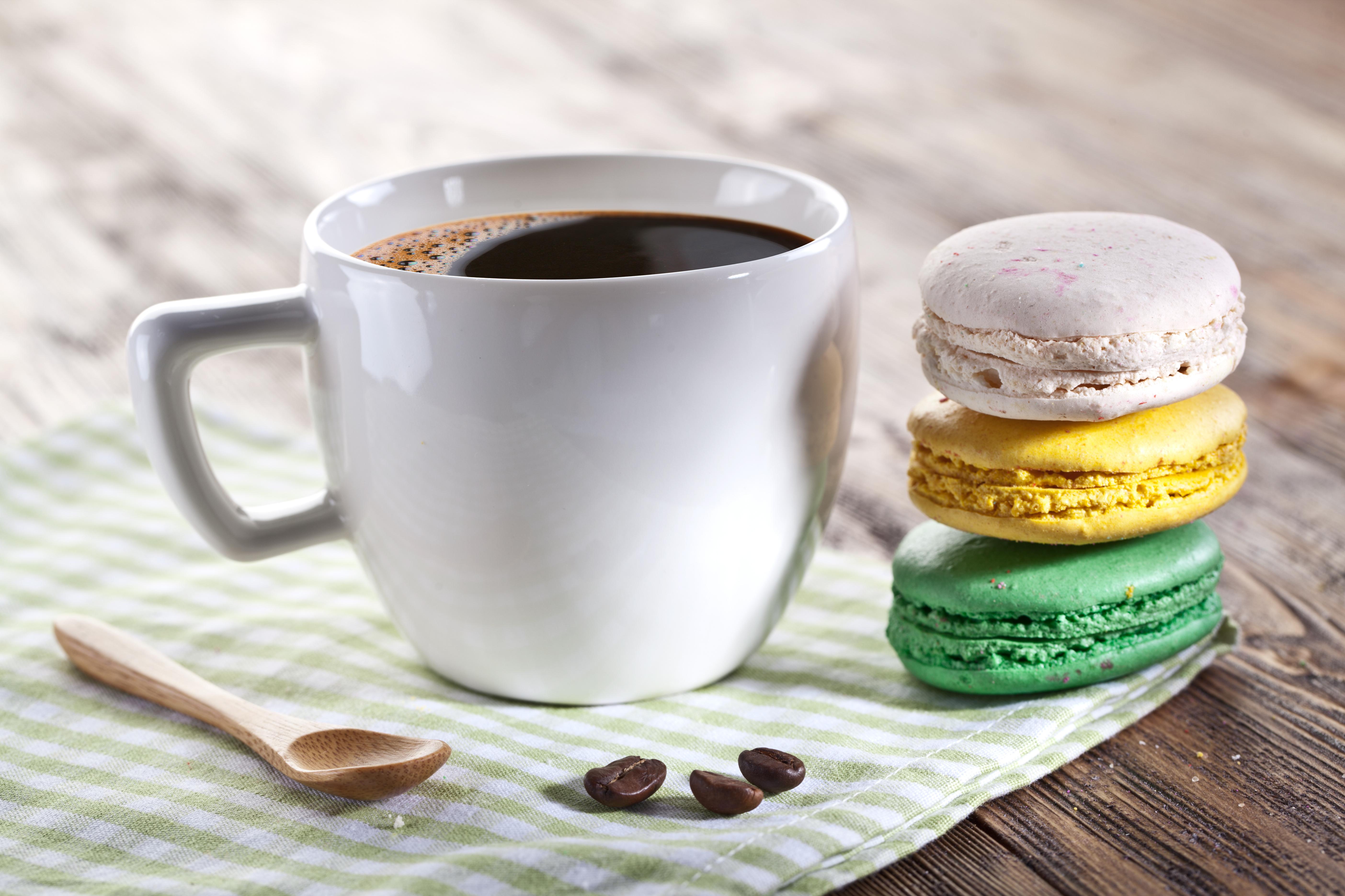 Кофе с пирожными картинки, днем рождения полине