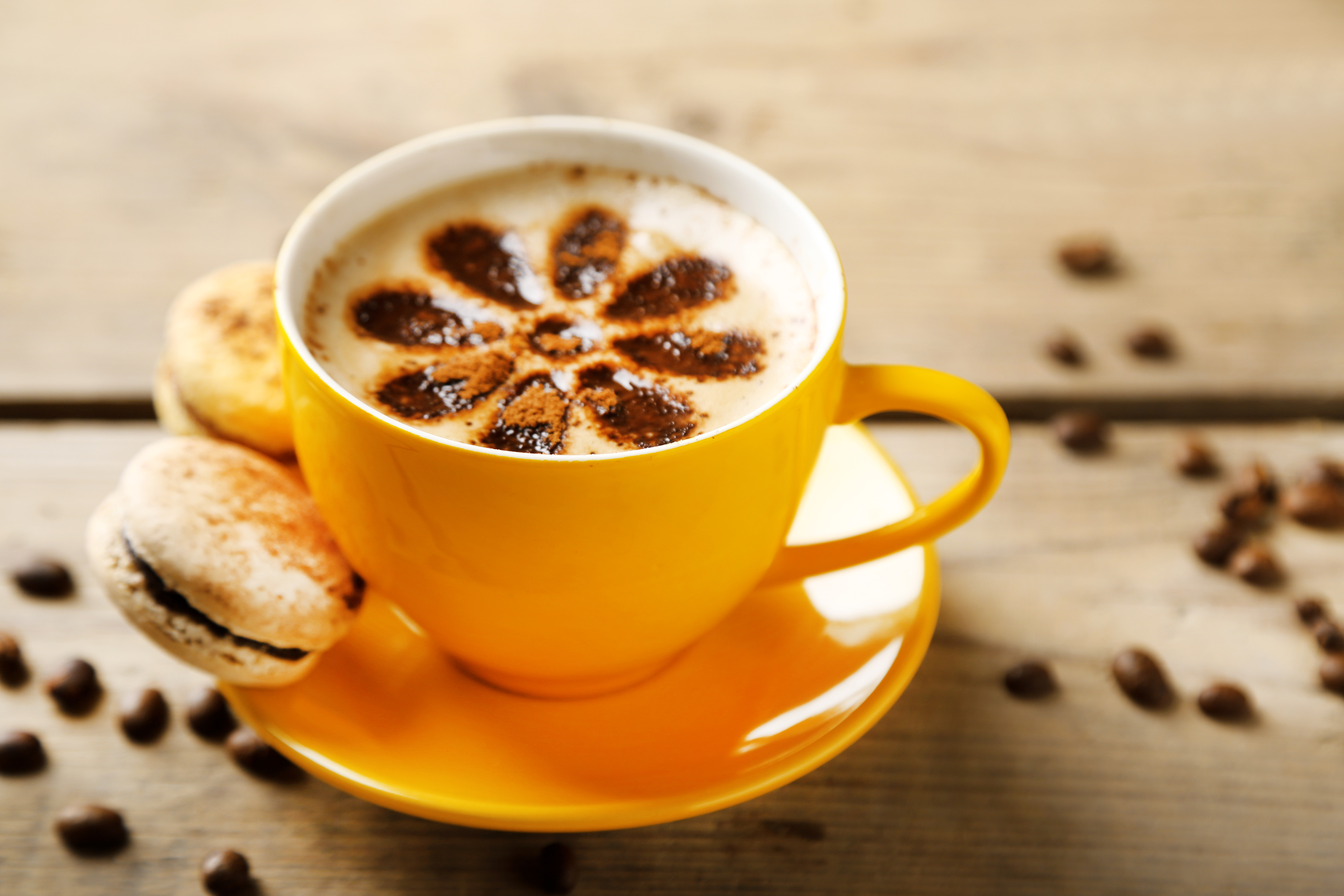 Открытки с кружкой кофе