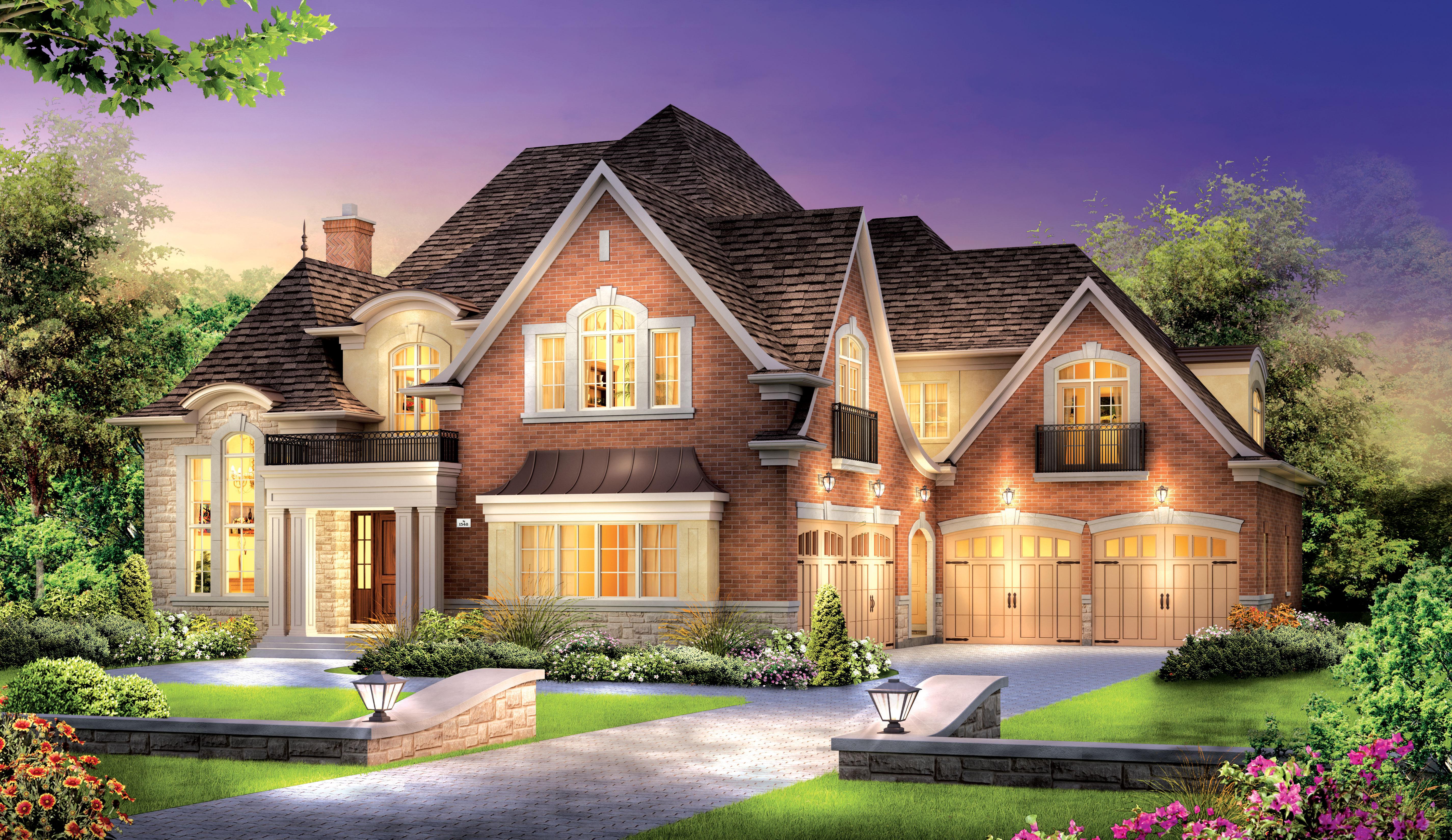 Рисунок дом  № 3354454  скачать