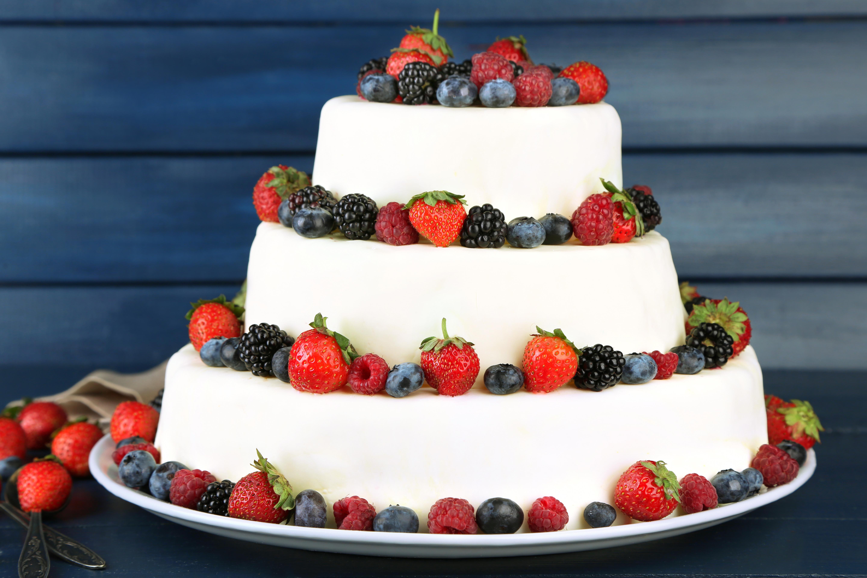 Свадебный торт  № 1408238  скачать