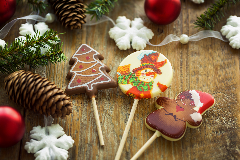 Новогодние сладости картинка для детей