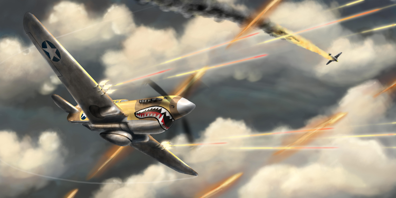 Воздушный бой  № 2373017  скачать