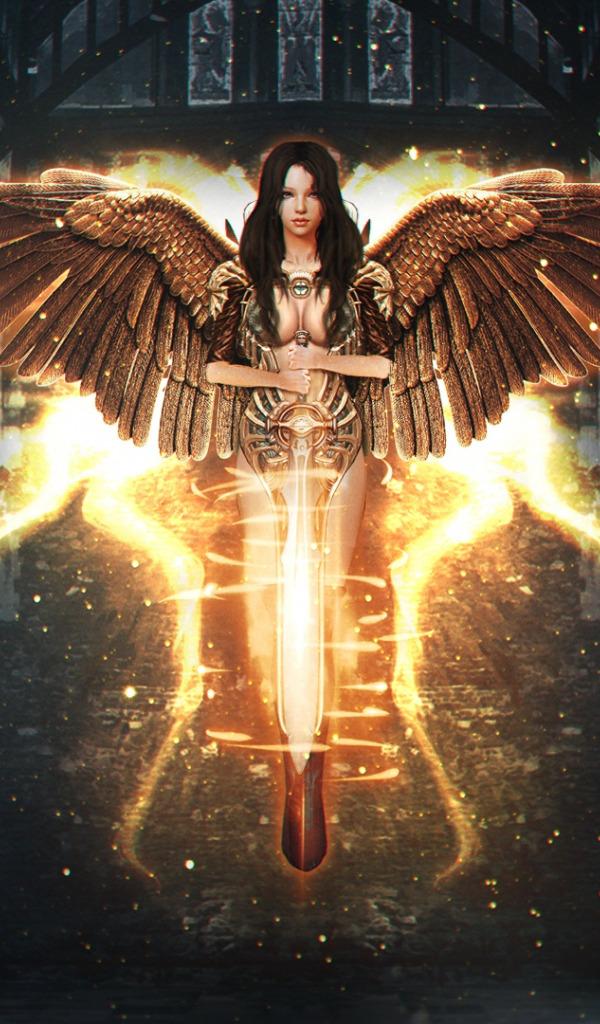 Смотреть картинки фотки ангел с мечом