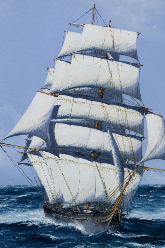 Картинки корабли на море анимации