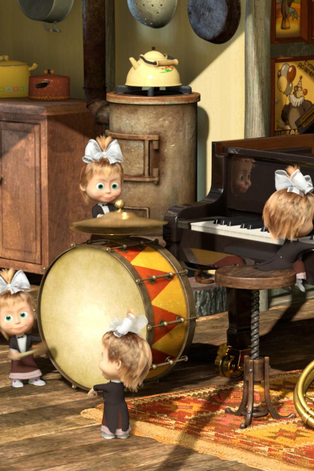 стандартная, маша и медведь пианино картинки ребенком портрет целых