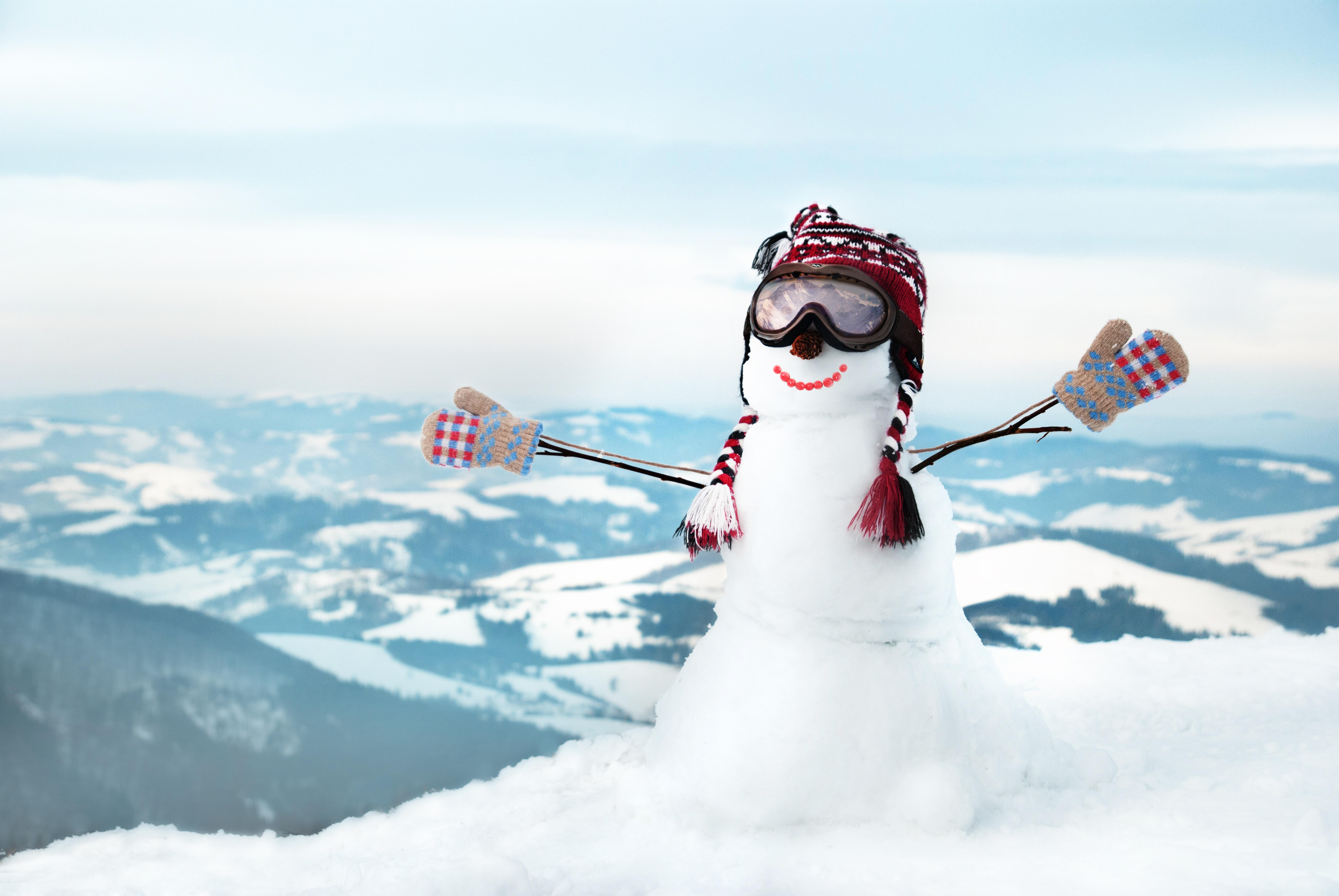 Открытки, прикольны снежные картинки