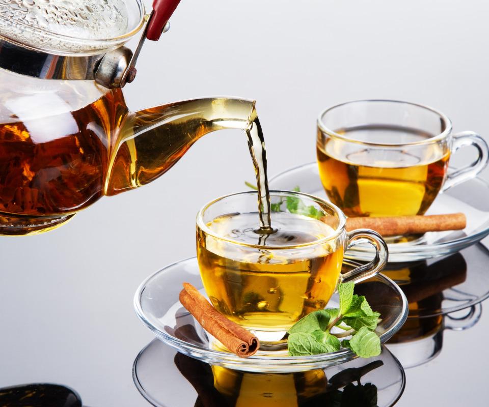 Открытка кружка чая, красивые