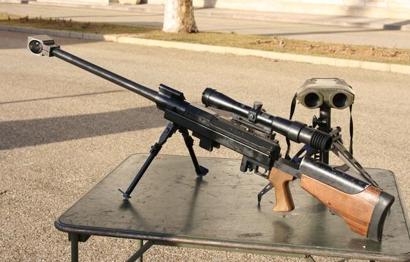 Картинка оптика, бинокль, винтовка, снайперская, крупнокалиберная, PGM UR Hecate ll