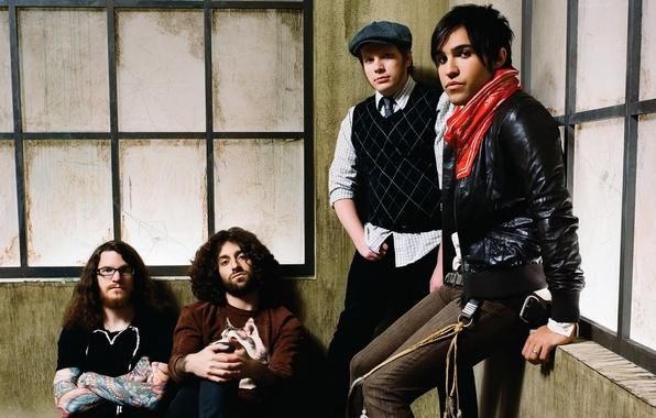 Картинка музыка, рок, Patrick Stump, Fall out boy, Andrew John Hurley, Peter Wentz, Joseph Mark Trohman