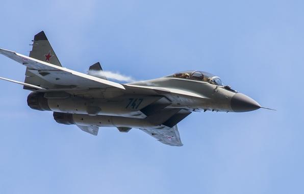 Картинка полет, истребитель, многоцелевой, МиГ-35