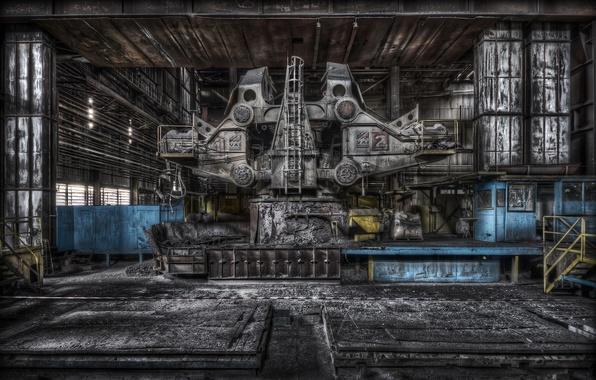 Картинка фон, завод, интерьер, фабрика