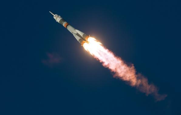 Картинка космос, полёт, Soyuz TMA-19M
