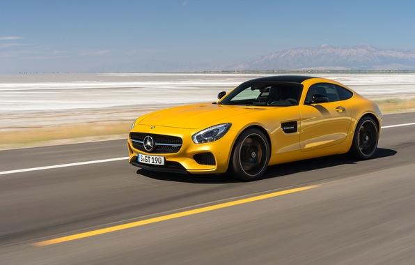 Картинка Mercedes-Benz, суперкар, мерседес, AMG, 2014, C190