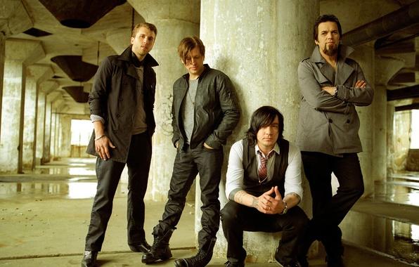 Картинка музыка, рок, Three Days Grace, Adam Gontier, Barry Stock, Brad Walst, Neil Sanderson