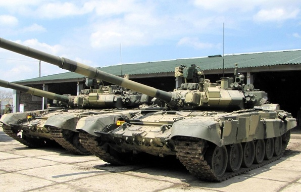 Картинка Танк, Т-90, Основной боевой танк России