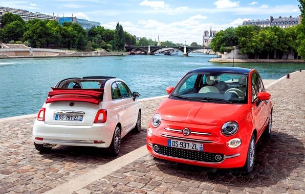 Картинка Fiat, фиат, 2015, 500C