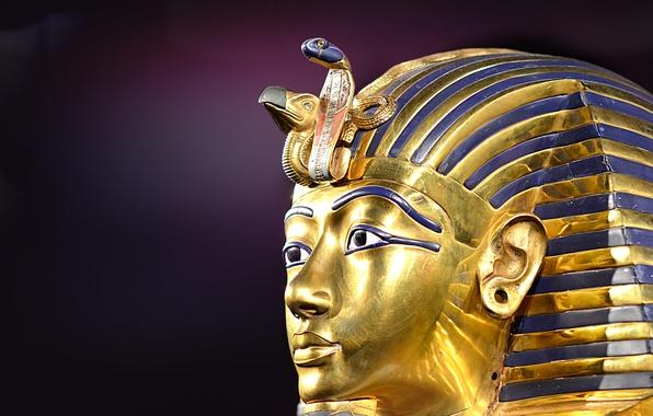 Картинка маска, фараон, Тутанхамон, Египта, Древнего, Tutankhamun