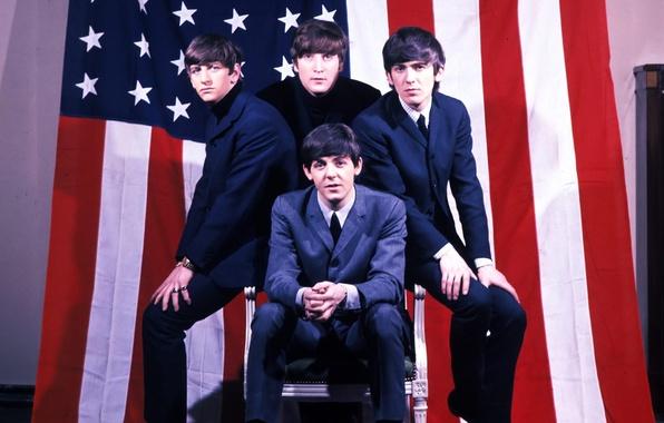 Картинка музыка, The Beatles, рок, легенда, Битлз, Beatles, музыканты, талант, Ринго Стар, Джордж Харрисон, Джон Леннон, …