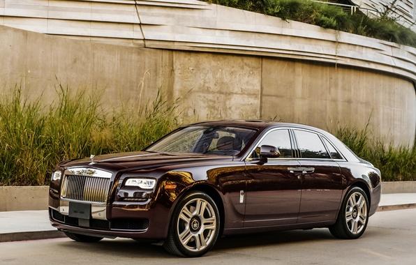 Фото обои гост, Rolls-Royce, Ghost, роллс-ройс