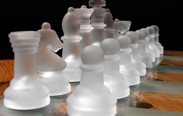 Картинка шахматы, матовый, светотень