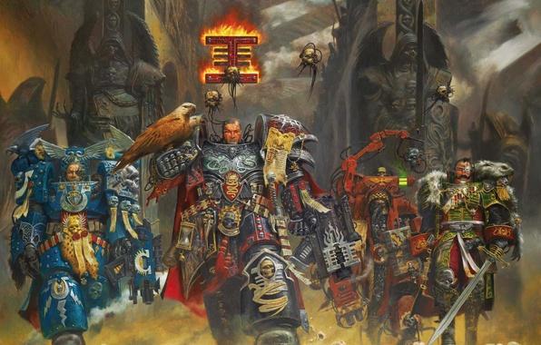 Картинка оружие, война, Warhammer