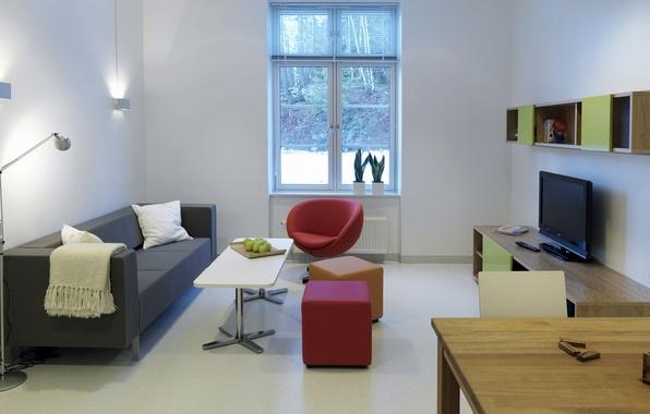 Картинка свет, стиль, комната, интерьер, минимализм, окно