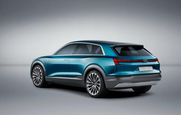 Картинка Audi, ауди, concept, концепт, e-tron, quattro, 2015