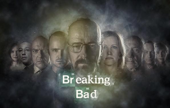 Картинка сериал, Во все тяжкие, Breaking Bad, Брайан Крэнстон, AMC, Джесси Пинкман, Аарон Пол, Уолтер Уайт, …