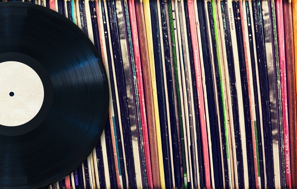 Картинка vinyl, vintage records, protective covers