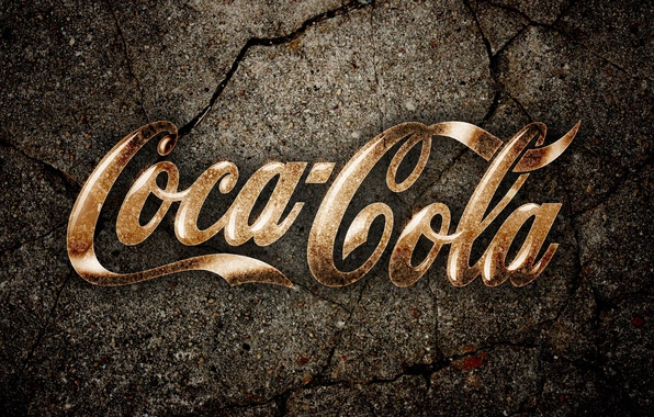 Картинка трещины, земля, Coca-Cola