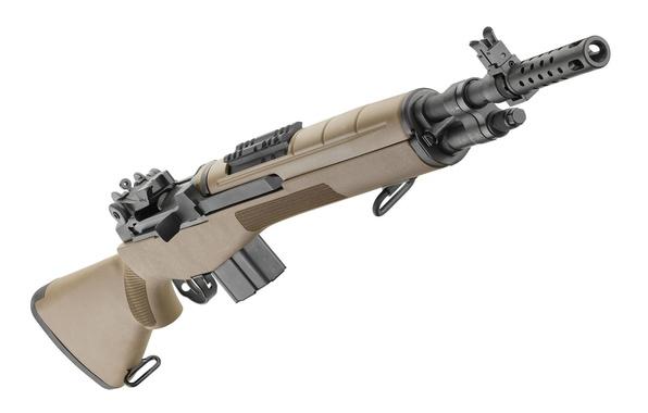 Картинка оружие, винтовка, M1A, Springfield, полуавтоматическая