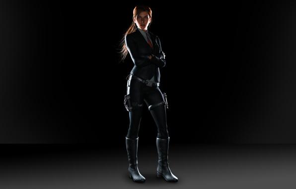 Картинка девушка, костюм, Tomb Raider, Lara Croft, расхититель, археолог