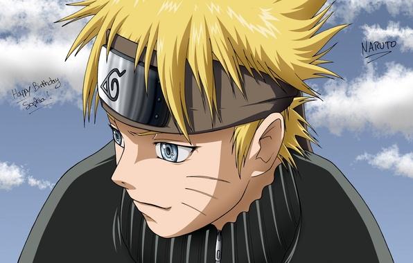 Фото обои арт, Аниме, Наруто, Naruto, Uzumaki Naruto, Узумаки наруто