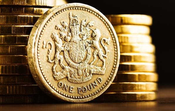 Картинка metal, British, shine, currency