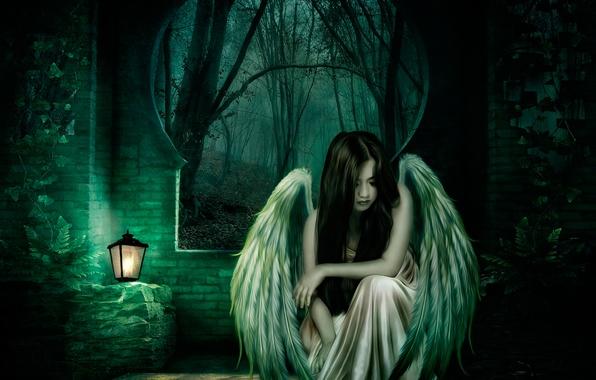 Девушка ангел фото