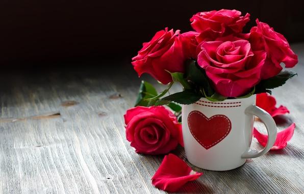 Цветы и сердце картинки