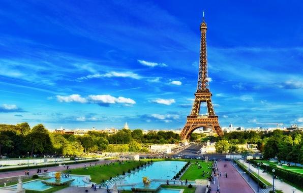 Картинка Франция, Париж, Башня, Европа, Эйфелева Башня, Paris, France, Europe