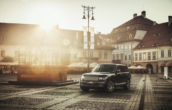 Картинка Desktop, Range Rover, Car, Black, Wallpapers, Wallpaper, Automobile, Vogue, TDV8